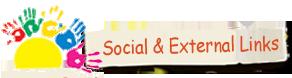 Social and External Links